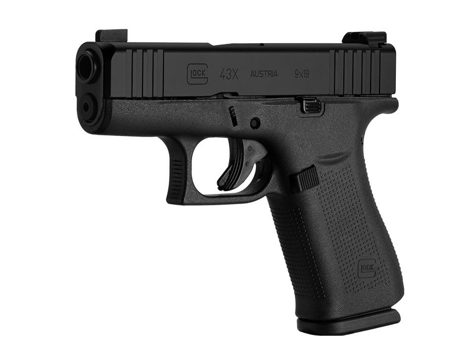 Black Glock G43X Pistol