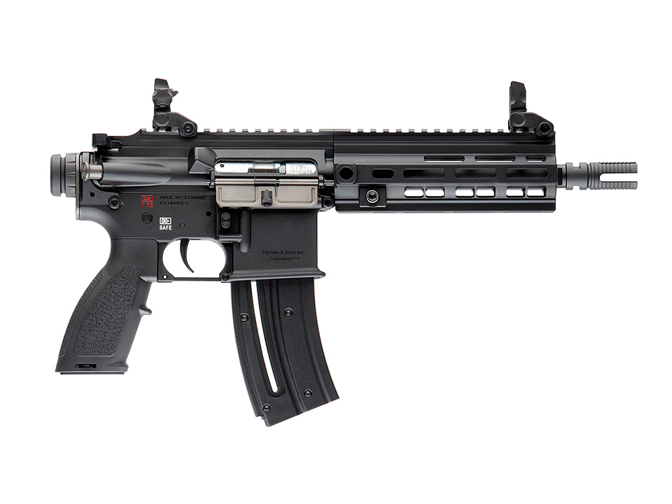 Heckler & Koch HK416 .22LR Rifle in black finish