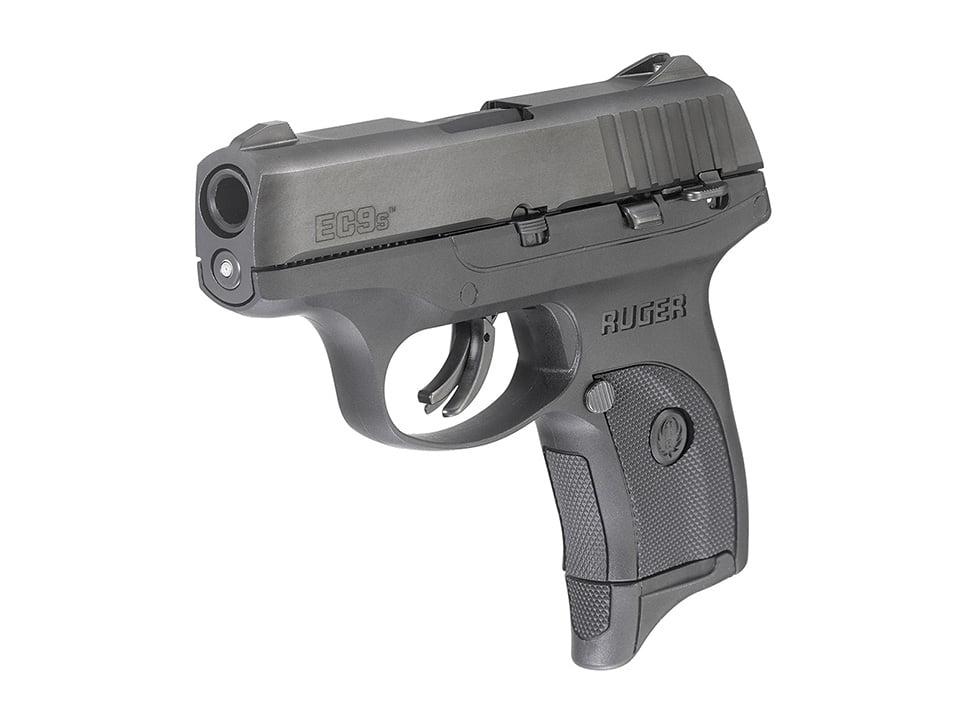 Ruger EC9 pistol in black oxide finish