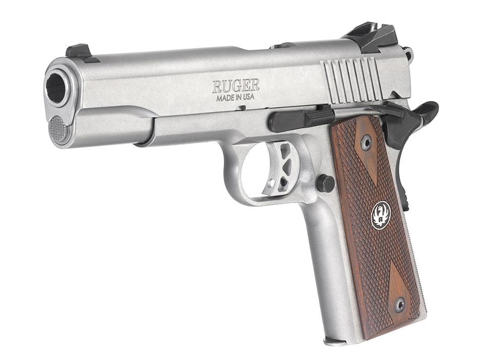 Ruger SR1911 Pistol Model 6700 in Stainless Steel Finish