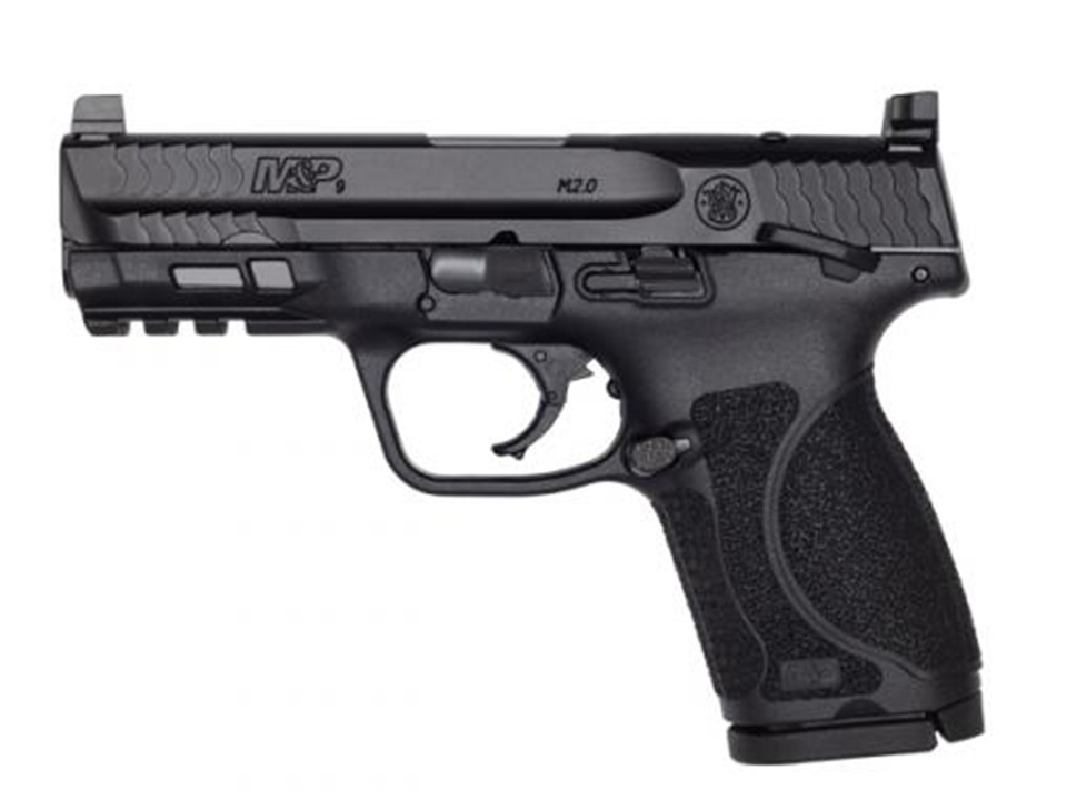 "Smith & Wesson M&P®9 M2.0™ 4"" Compact Optics Ready Thumb Safety"