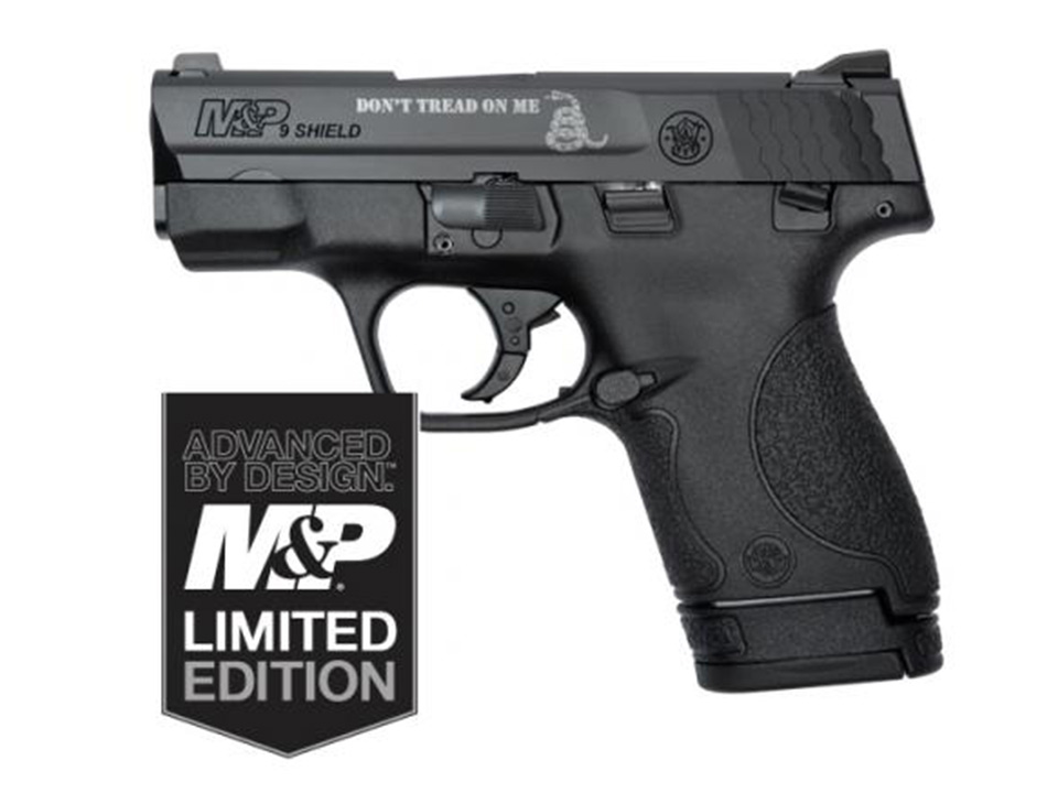 Smith & Wesson M&P®9 SHIELD™ Don't Tread On Me Limited Edition Pistol