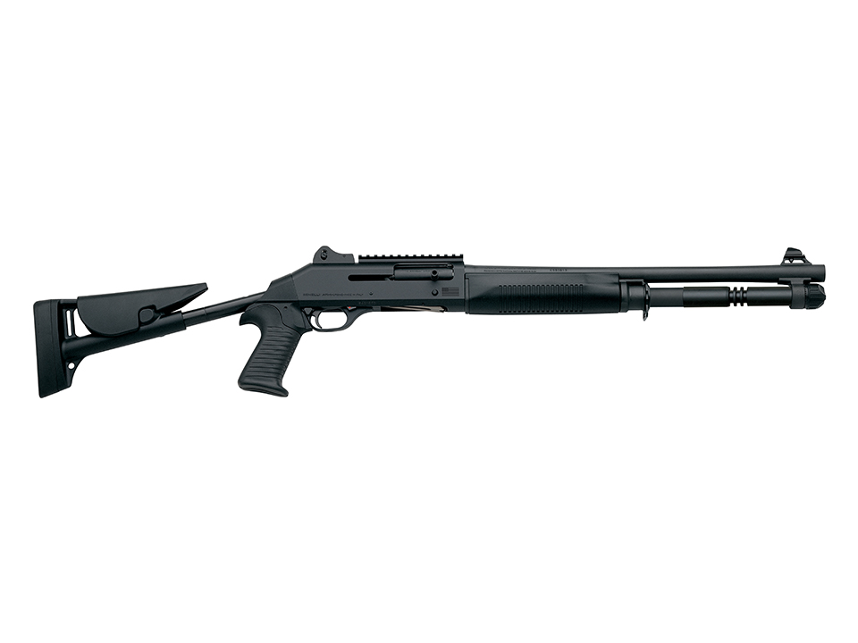 Benelli M1014 Shotgun in Anodized Black Finish