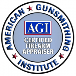 American Gunsmithing Institute Certified Firearm Appraiser logo