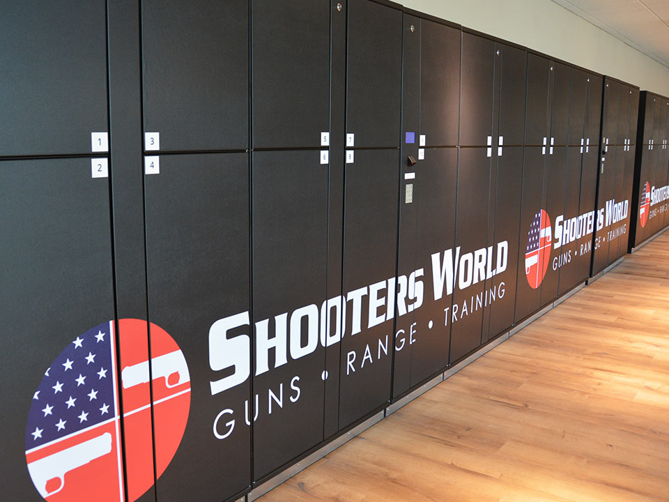 Shooters World Orlando Gun Lockers