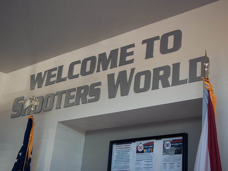 Shooters World Orlando Welcome